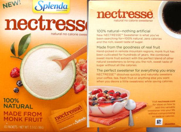 Nectresse sweetener