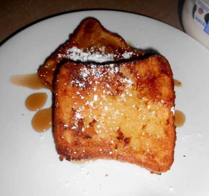 Cinnabon Cream French Toast