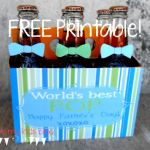 FREE Father's Day Printable! How to Make DIY World's Best Pop!