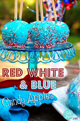 Red-White-and-Blue-Candy-Apples