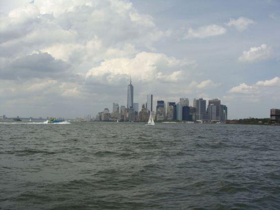 edge of Manhattan island