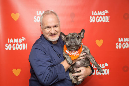 celebrity Chef Art Smith and his dog Cochon