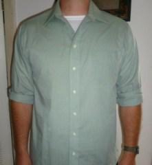 sweat shield under work shirt