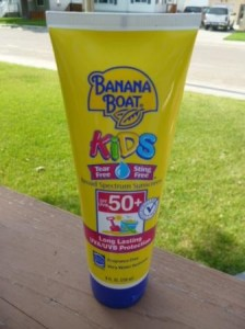 banana boat kids 50