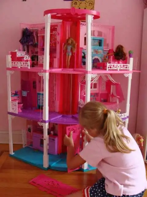 The All New Renovated 3 Story Barbie Dream House 2013 Is Out