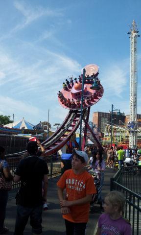 electro spin ride