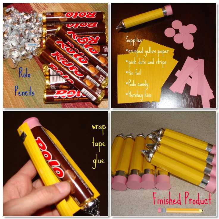 how to make rolo pencil