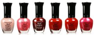 nail polish red