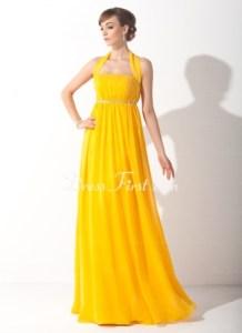 DressFirst bold yellow dress