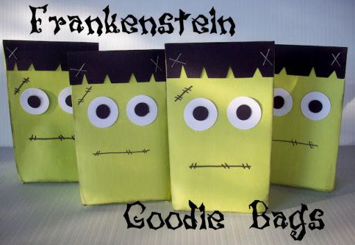 Frankenstein Goodie Bags