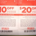 Sports Authority Coupons – $10 Off and $20 Off – Use online or printable