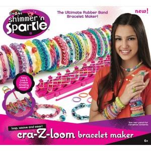 Shimmer N Sparkle Cra Z Loom Bracelet Maker