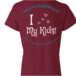 I Love My Kids Blog WhoopTee Custom T Shirts Giveaway (10 winners!)