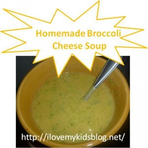 Broccoli soup 14