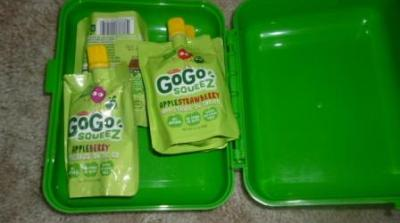 GoGo squeeZ™-A healthy and mess free snack