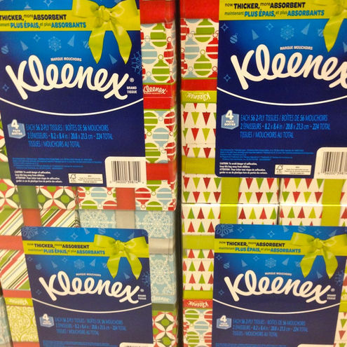 Kleenex Holiday 4 Pack