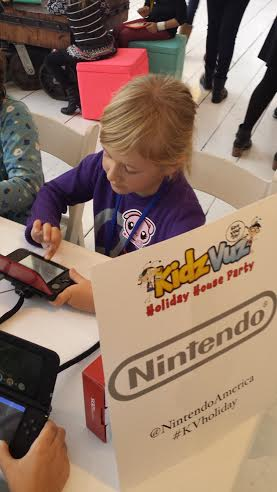Nintendo game lounge where kids could play the latest game systems from Nintendo