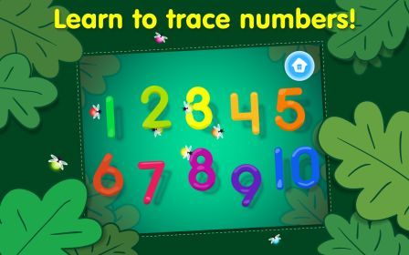 Tracing App choose which number to start on