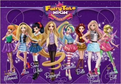 fairytale high all dolls