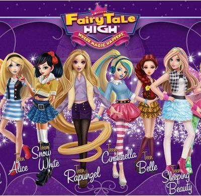Fairy Tale High Dolls – Are more than just dolls-with ebooks and webisodes!