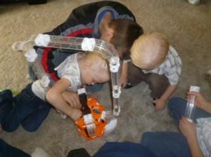 hexbug kids playing more