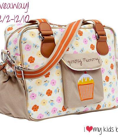 Pink Lining Diaper Bag – A high fashion diaper bag