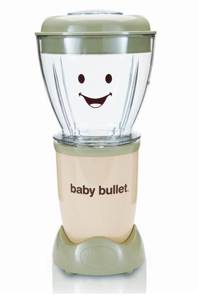 Have a healthy baby by making food with the Baby Bullet (Giveaway)