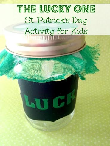 The Lucky One St. Patrick's Day Activity for Kids