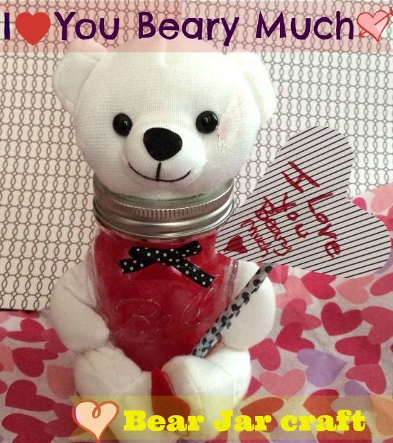 Valentine's Day Jar Craft