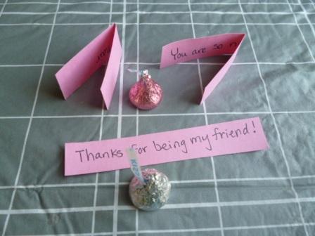 valentines day craft notes