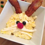 An Easter Breakfast idea – Bunny Eggs and Bunny Pancakes