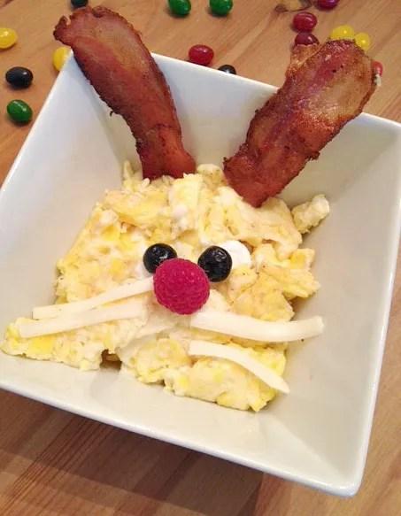 Bunny Face Eggs