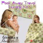 Peek Away Travel Nursing Kit–A bag for every traveling Mom {Review & Giveaway}