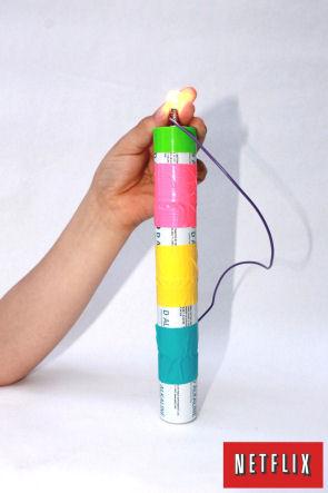 science light bulb experiment