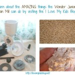 The Wonder Junior Hand Grain Mill provides endless healthy possibilities!