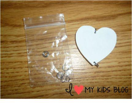 Woodworx Birthday Board heart piece