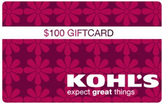 gift card Kohls