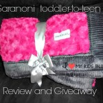 Snuggle up in warm soft blankets from Saranoni {Review & Giveaway}