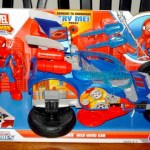 Spider-Man Adventures Web Wing Car