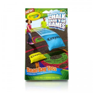 Washable Sidewalk Chalk  Bean Bag Toss