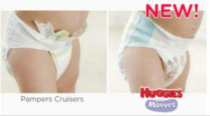 pampers vs huggies diapers
