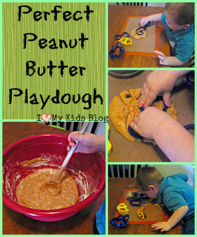 Perfect Peanut Butter Playdough