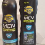 New Banana Boat Triple Defense Sunscreen for Men