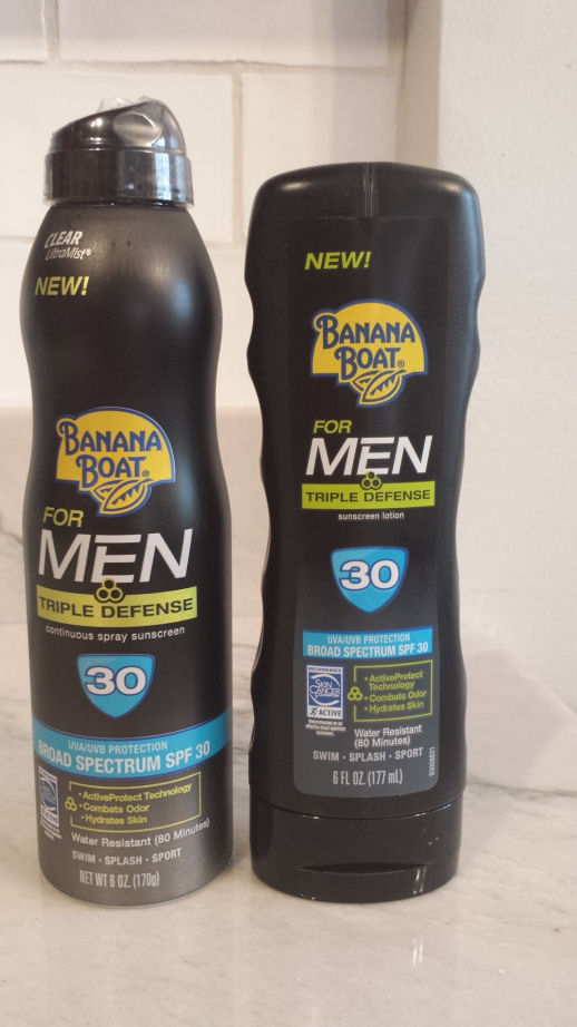 Banana Boat Sunscreen for Men