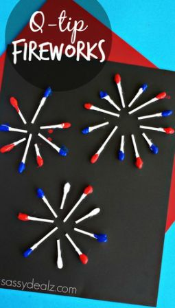 q-tip-fireworks-craft-for-kids