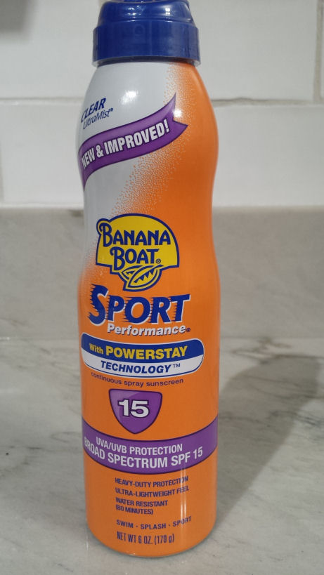 Banana Boat Sport Performance Clear UltraMist Sunscreen
