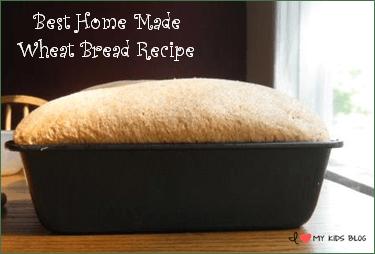 Best Home Made Wheat Bread Recipe button