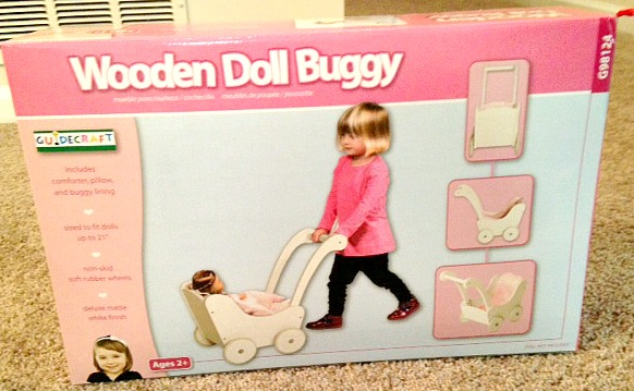 Doll Buggy Front of Box