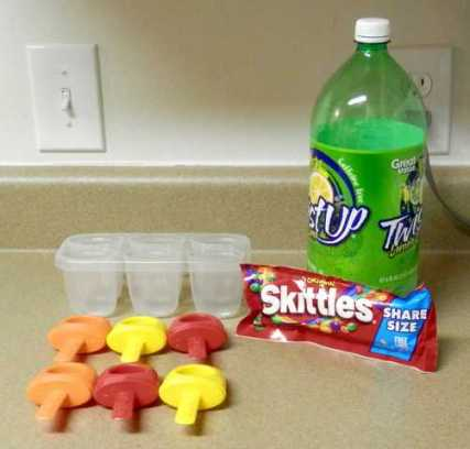 Skittle Popsicle Ingredients