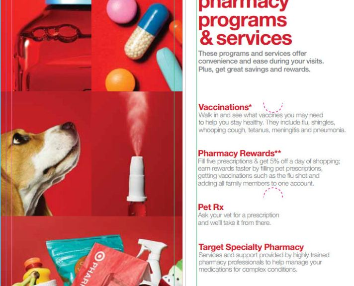 target pharmacy program and services